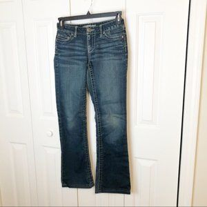 BKE Buckle Culture Stretch Bootcut Jeans Size 27